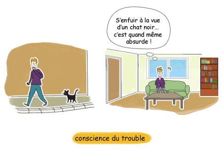 Avoir conscience que l'on souffre de TOC