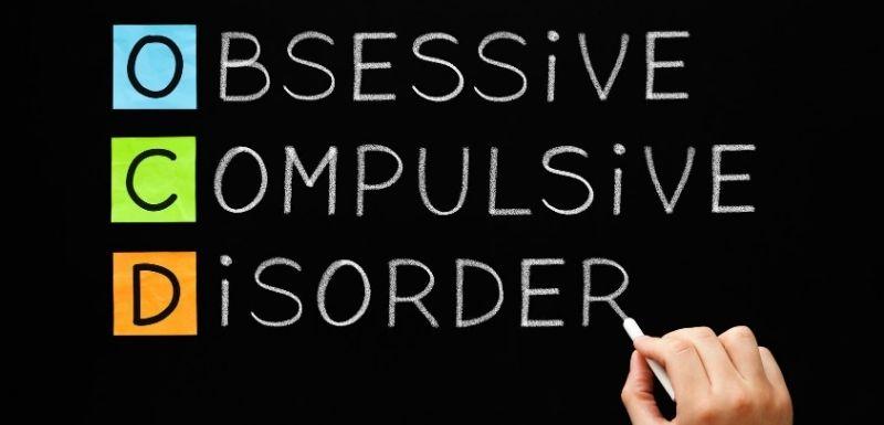trouble obsessionnel-compulsif sur le tableau noir